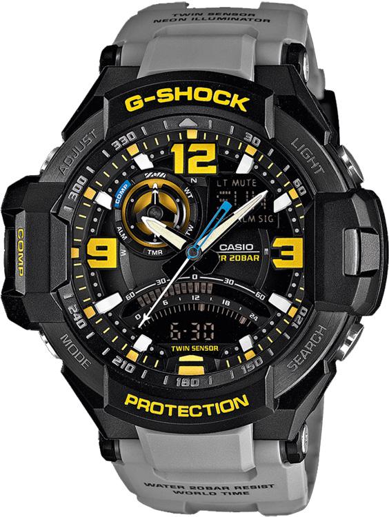 Zegarek Casio G-SHOCK GA-1000-8AER - duże 1