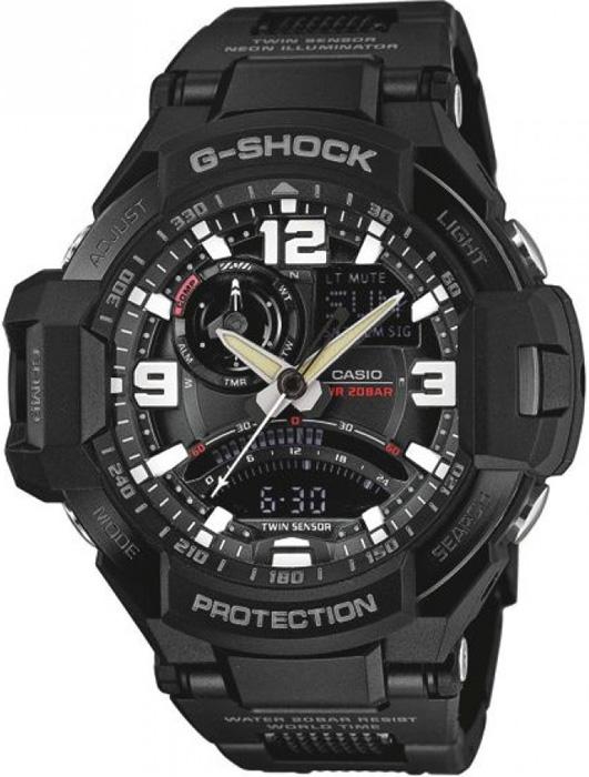 GA-1000FC-1AER - zegarek męski - duże 3