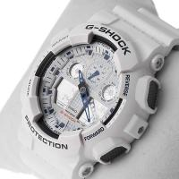 Zegarek męski Casio g-shock original GA-100A-7AER - duże 2