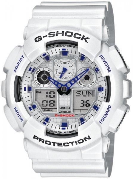 Zegarek Casio GA-100A-7AER - duże 1
