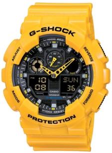 zegarek męski Casio G-Shock GA-100A-9AER