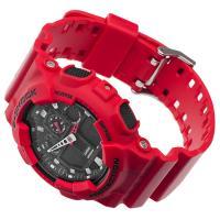 Zegarek męski Casio g-shock GA-100B-4AER - duże 2