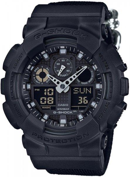 GA-100BBN-1AER - zegarek męski - duże 3