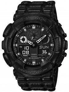 zegarek męski Casio G-Shock GA-100BT-1AER