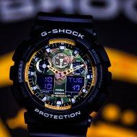 Zegarek męski Casio g-shock GA-100BY-1AER - duże 2