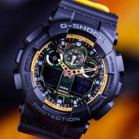 Zegarek męski Casio g-shock GA-100BY-1AER - duże 3