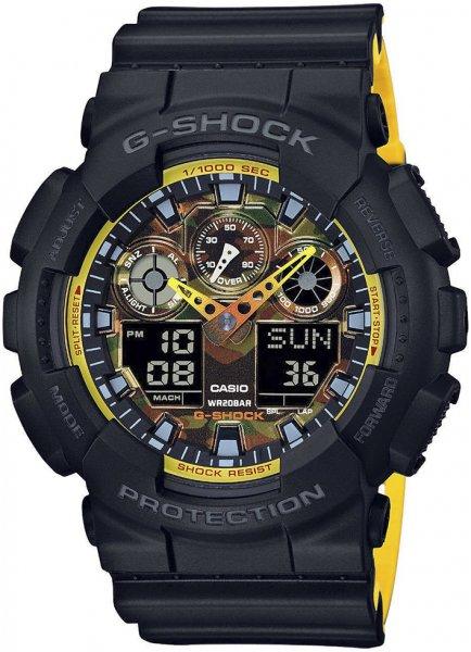 Zegarek męski Casio G-Shock GA-100BY-1AER - zdjęcie 1