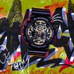 Zegarek męski Casio g-shock GA-100BY-1AER - duże 4