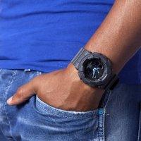Zegarek męski Casio g-shock GA-100C-8AER - duże 2