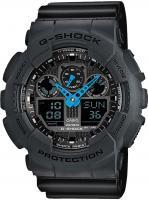 Zegarek męski Casio G-SHOCK g-shock original GA-100C-8AER - duże 2