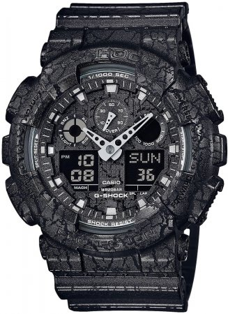 G-Shock GA-100CG-1AER G-SHOCK Style CRACKED GROUND