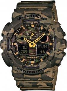 zegarek męski Casio G-Shock GA-100CM-5AER