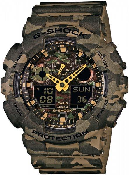 Zegarek Casio G-SHOCK GA-100CM-5AER - duże 1
