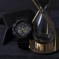 Zegarek męski Casio g-shock original GA-100GBX-1A9ER - duże 2