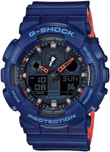 Zegarek Casio G-SHOCK GA-100L-2AER - duże 1