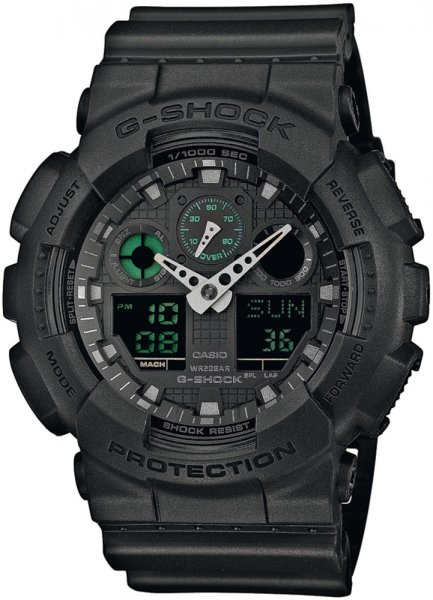 Zegarek Casio GA-100MB-1AER - duże 1