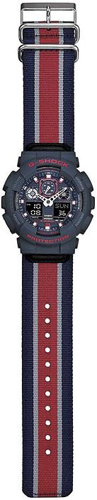 Zegarek męski Casio G-SHOCK g-shock GA-100MC-2AER - duże 1