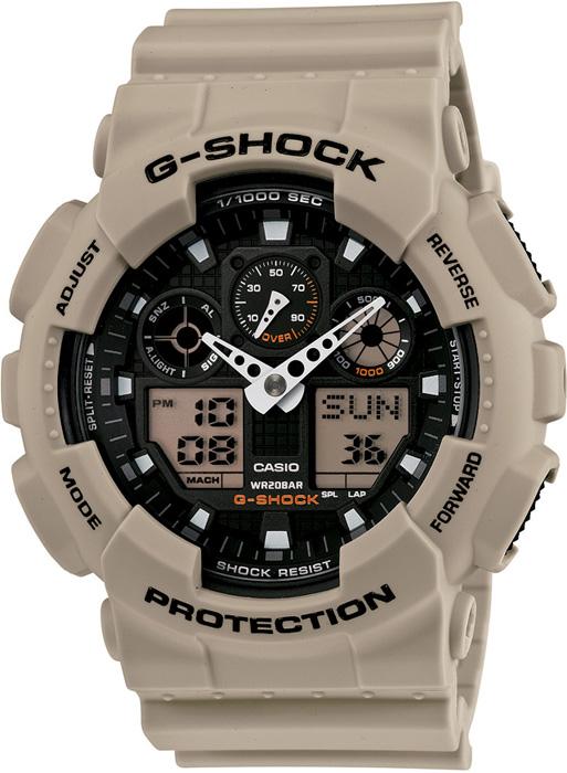 GA-100SD-8AER - zegarek męski - duże 3