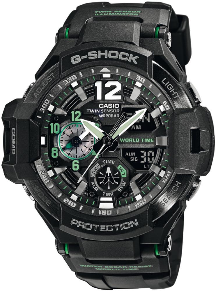 G-Shock GA-1100-1A3ER G-SHOCK Master of G GRAVITYMASTER