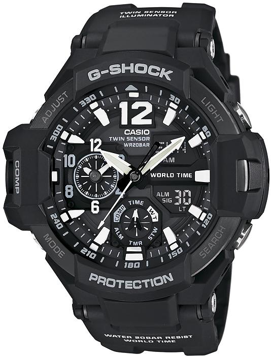 G-Shock GA-1100-1AER G-SHOCK Master of G GRAVITYMASTER