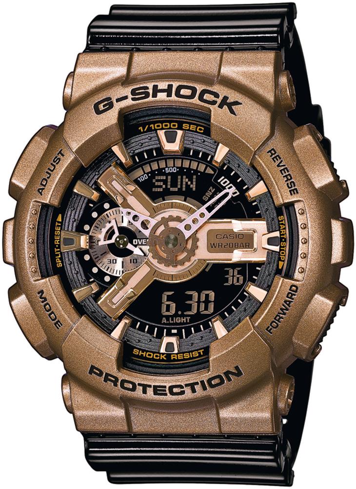 GA-110GD-9B2ER - zegarek męski - duże 3