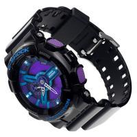 Zegarek męski Casio g-shock GA-110HC-1AER - duże 2