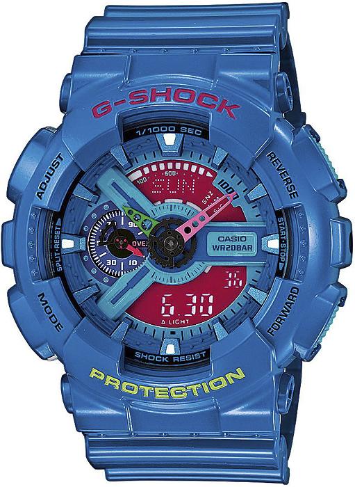 GA-110HC-2AER - zegarek męski - duże 3
