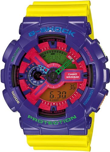 GA-110HC-6AER - zegarek męski - duże 3