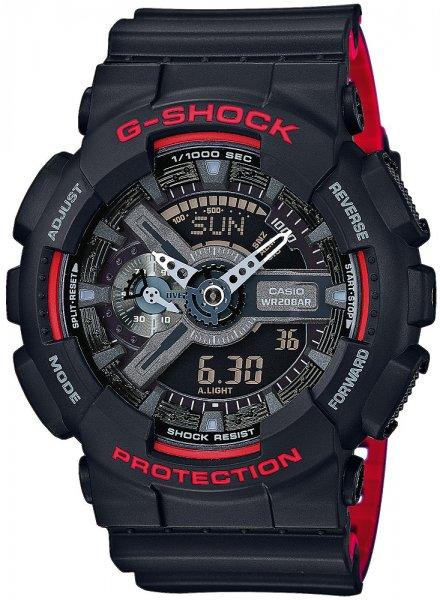 GA-110HR-1AER - zegarek męski - duże 3