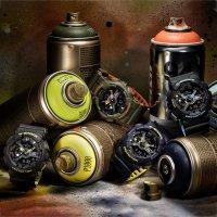 Zegarek męski Casio g-shock original GA-110LN-2AER - duże 2