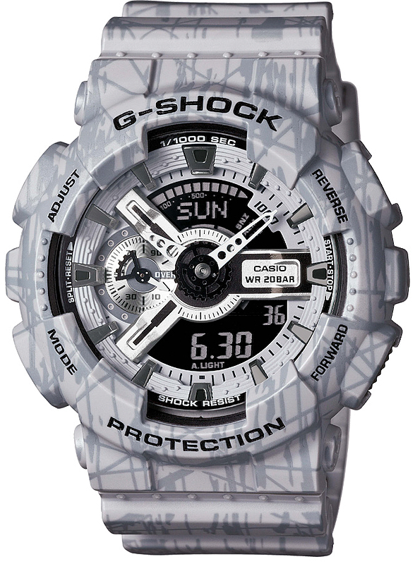 GA-110SL-8AER - zegarek męski - duże 3