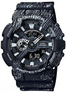 zegarek  Mist Texture Scratch Pattern Casio GA-110TX-1AER