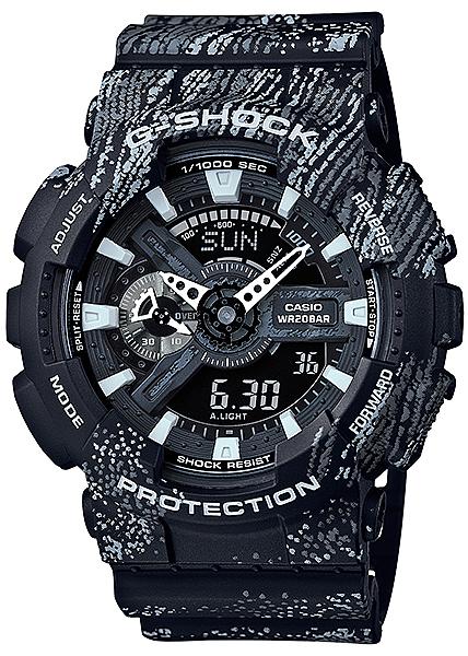G-Shock GA-110TX-1AER G-SHOCK Specials MIST TEXTURE SCRATCH PATTERN