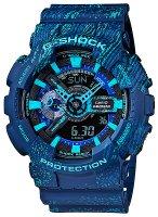 zegarek Mist Texture Scratch Pattern Casio GA-110TX-2AER