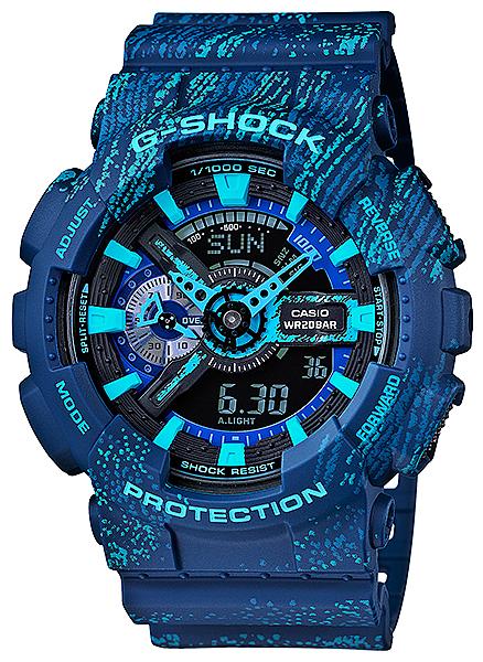 G-Shock GA-110TX-2AER G-SHOCK Specials MIST TEXTURE SCRATCH PATTERN