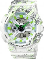 zegarek Mist Texture Scratch Pattern Casio GA-110TX-7AER