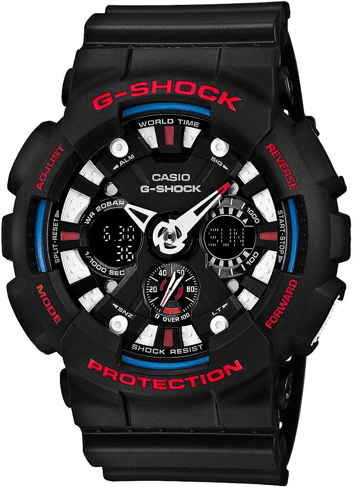 Zegarek Casio G-SHOCK GA-120TR-1AER - duże 1