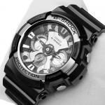 G-Shock GA-200BW-1AER G-Shock zegarek męski sportowy mineralne