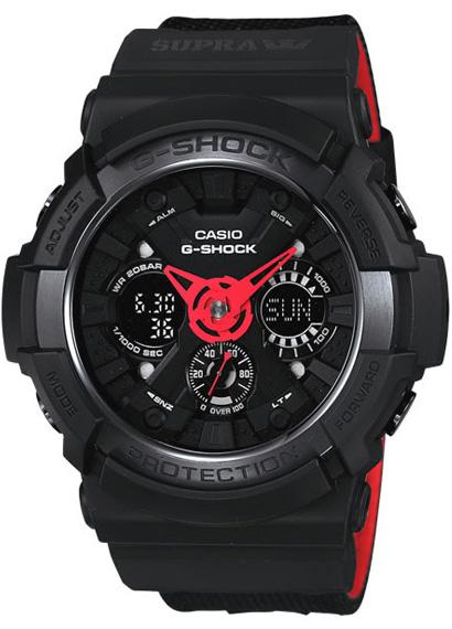 Zegarek męski Casio G-SHOCK g-shock GA-200SPR-1AER - duże 1