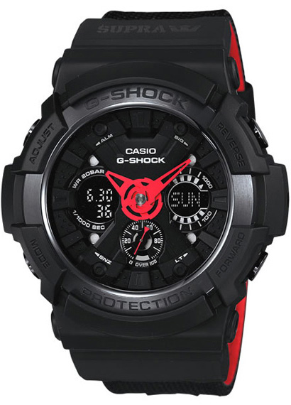 Zegarek Casio G-SHOCK GA-200SPR-1AER - duże 1