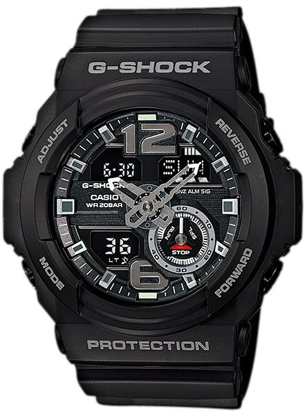 GA-310-1AER - zegarek męski - duże 3