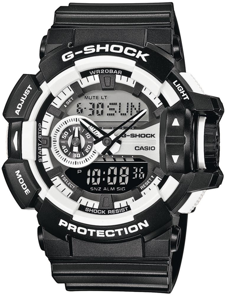 G-Shock GA-400-1AER G-SHOCK Original ROTARY SWITCH