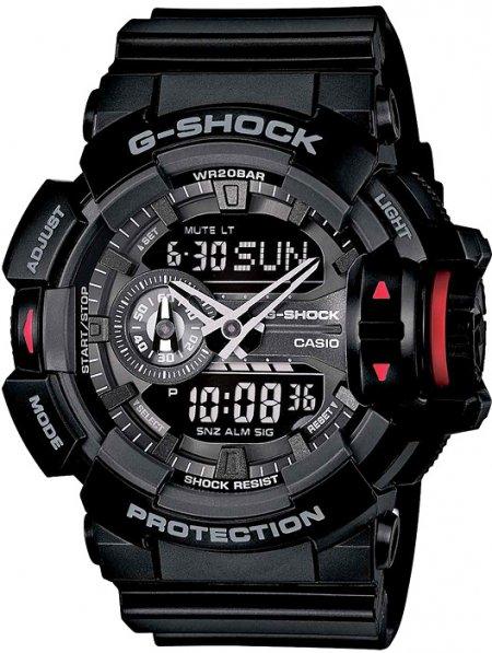 Zegarek męski Casio G-SHOCK g-shock original GA-400-1BER - duże 3
