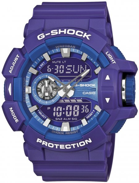 Zegarek Casio GA-400A-6AER-POWYSTAWOWY - duże 1