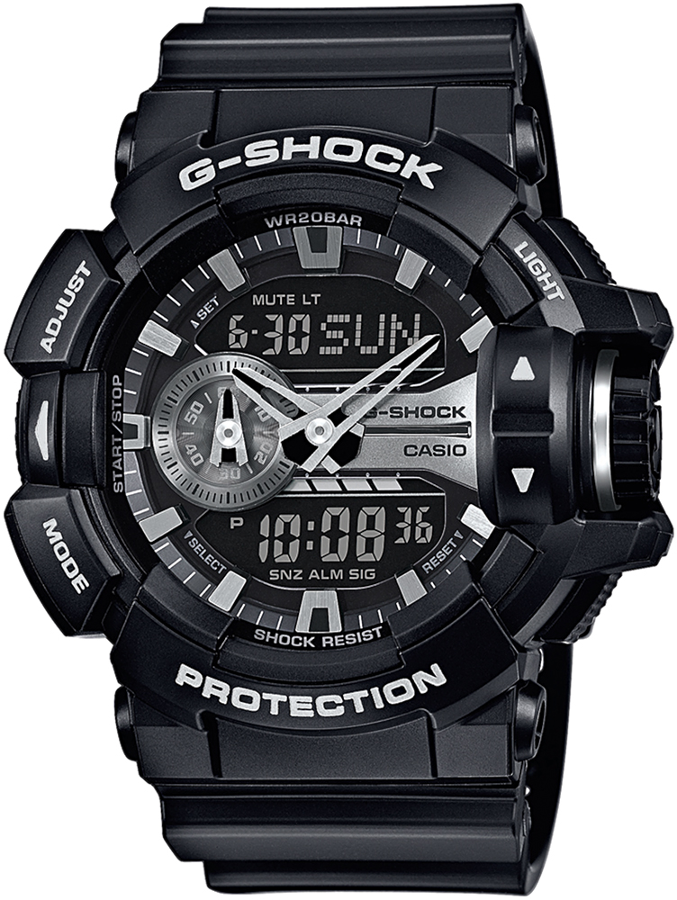 GA-400GB-1AER - zegarek męski - duże 3