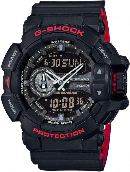 G-Shock GA-400HR-1AER G-SHOCK Original BLACK AND RED HERITAGE