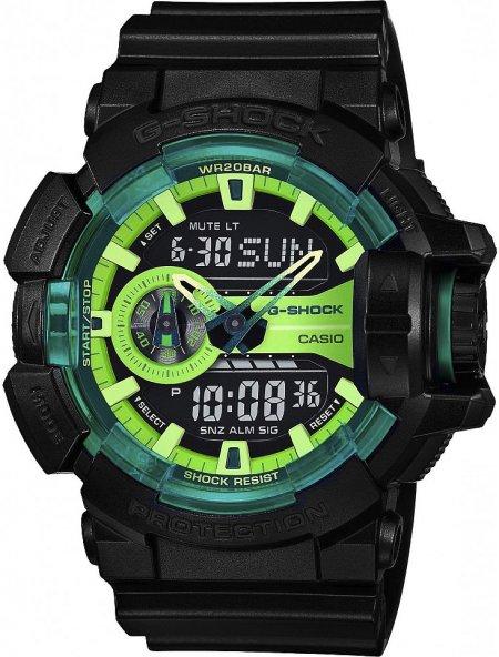 Zegarek Casio GA-400LY-1AER-POWYSTAWOWY - duże 1