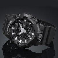 Zegarek męski Casio g-shock original GA-700-1BER - duże 2