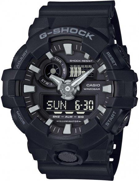 GA-700-1BER - zegarek męski - duże 3