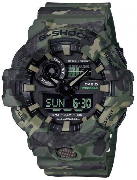 Zegarek Casio GA-700CM-3AER - duże 1